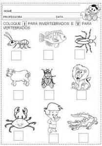 imagenes virtuales buenas tareas animales vertebrados e invertebrados para colorear imagui
