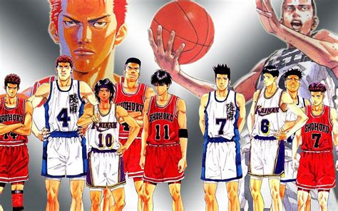 anime basketball slam dunk anime wallpapers wallpaper cave