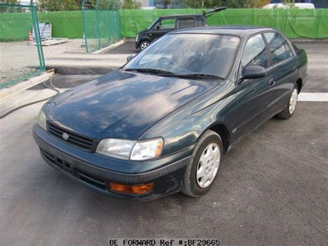 1994 Toyota Specs Used 1994 Toyota Corona Select Saloon E St190 For Sale