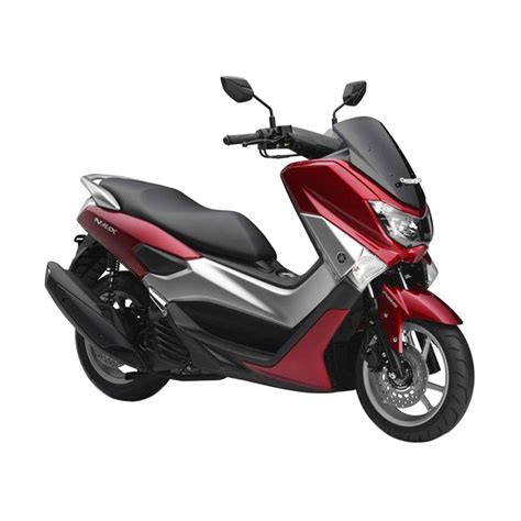 jual yamaha nmax abs climax red sepeda motor