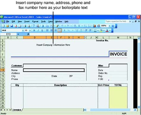Exploring Excel Templates Sams Teach Yourself Microsoft Office Excel 2003 In 24 Hours Sams Microsoft Excel 2003 Templates