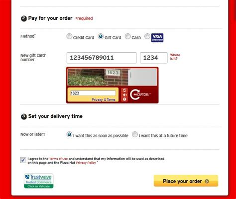 Pizza Hut Online Gift Card - free paypal gift card codes lamoureph blog