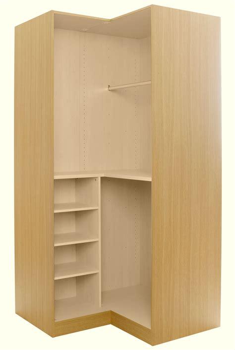 Wardrobe Carcass Diy by Oak Effect Corner Wardrobe Carcass H 2112mm W 1060mm