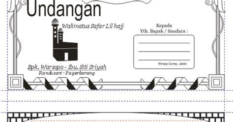 Buku Haji Gratis Semua Bisa Ke Baitullah undangan gratis desain undangan pernikahan