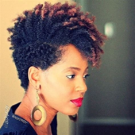easy hairstyles for very short natural hair 8 quick easy hairstyles on medium short natural hair