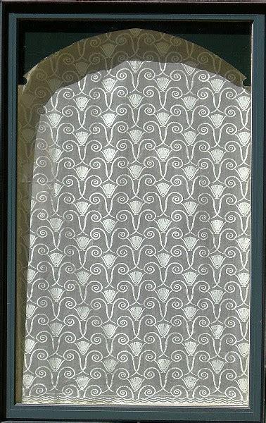 art deco lace curtains fair oak workshops contemporary arts crafts