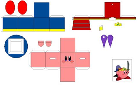 pin kirby papercraft on