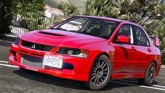 Mitsubishi Lancer Evo Mr Mitsubishi Lancer Evolution Ix Mr Add On Gta5 Mods