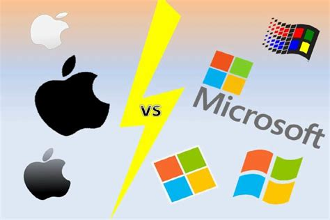 apple vs microsoft the eclipse apple microsoft computers have pros cons