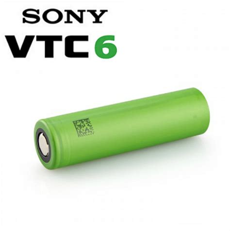 Battery Sony Vtc 6 battery sony vtc6 high drain 18650 battery flat top