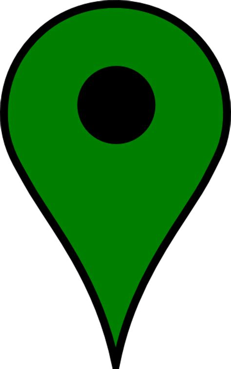map pin map pin green clip at clker vector clip royalty free domain