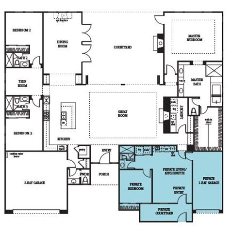 next generation house plans courtyard entry kitchenettes and courtyards on pinterest