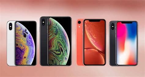 iphone xs vs xs max vs xr vs x specs comparison redmond pie