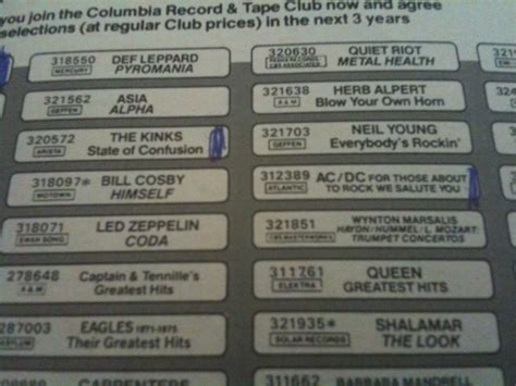 columbia house music club membership trapped in the columbia house tape club like totally 80s