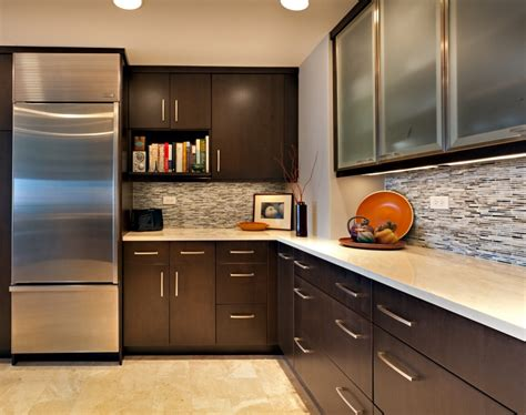 kitchen latest designs dark brown kitchen cabinets modern cabinet designs with