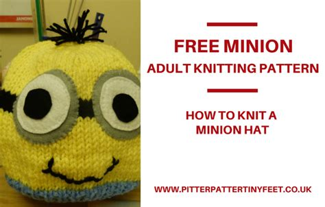 free knitted minion hat pattern this is what chions do harry hotspur