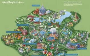 all walt disney world resort theme park maps