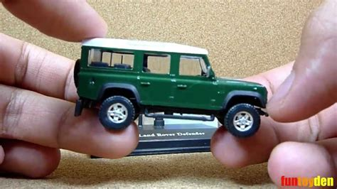 land rover defender cararama die cast car collection unboxing