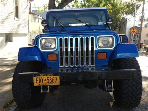 1991 jeep islander find used 1991 jeep wrangler islander sport utility 2 door
