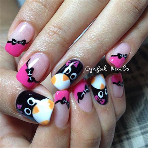 simple nail art designs 2014 simple penguin nail art designs ideas 2013 2014