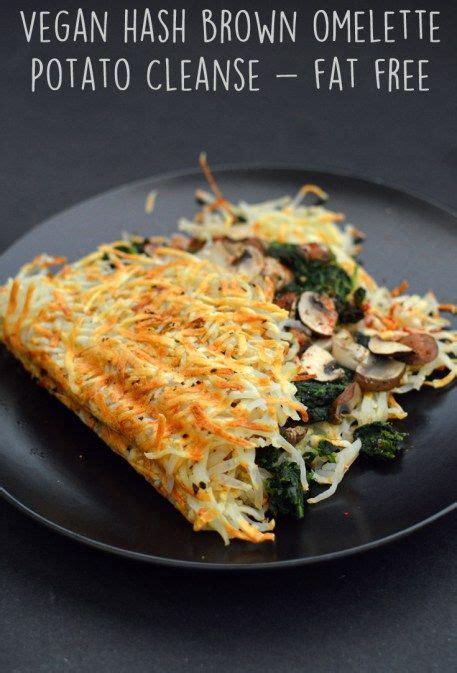 Vegan Gluten Free Detox Cleanse by Vegan Hash Brown Omelette 6 Vegan Gourmet Potato Cleanse