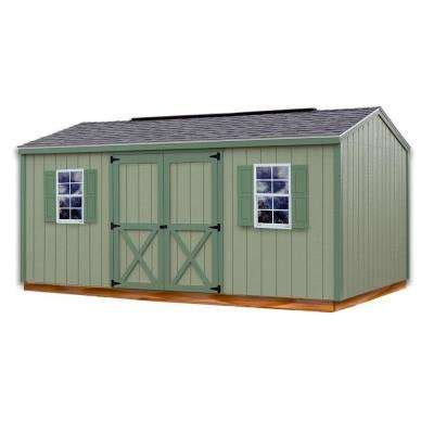 Val U Shed by Wood Sheds Sheds The Home Depot