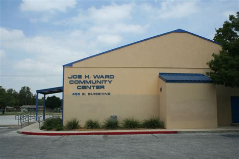 the city of san antonio official city website home ward community center the city of san antonio official