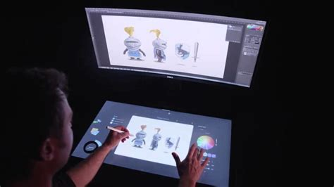 touch screen desk surface will microsoft s surface studio pc meet its match in the