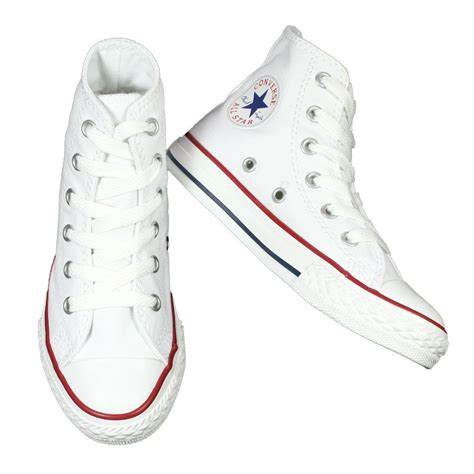 high top converse white
