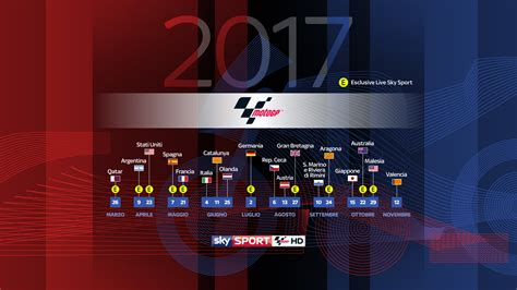 calendario motogp 2017 in pdf stabile sky sport