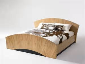 Nice unique floating bed designs for modern bedrooms solid wood unique