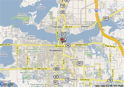 map of bradenton florida and surrounding area inn riverfront bradenton deals see hotel photos
