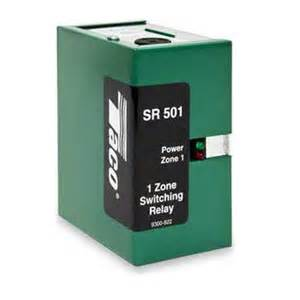 taco sr501 switching relay 1 zone