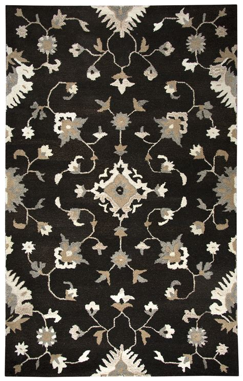 10 by 13 wool rugs suffolk floral vines wool area rug in brown 10