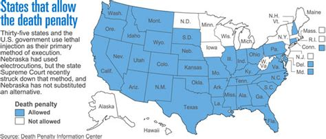 map of us states that the penalty photo gallery pro penalty information scheduled