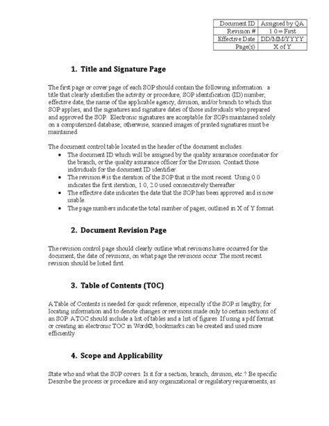 Purchase Resume Sample by Administrative Sop Template Kentucky Free Download