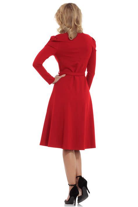 swing dress 1950 voodoo vixen red dita 1950s swing dress free uk p p pduk