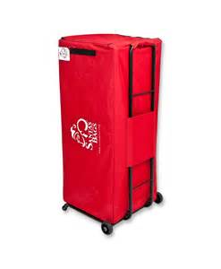 santa s bag deluxe christmas tree storage bag dolly system