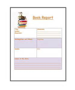 Template For Book Report 30 book report templates amp reading worksheets