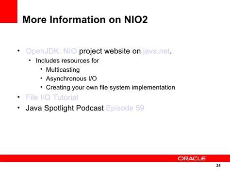 tutorial java nio2 55 new features in java 7