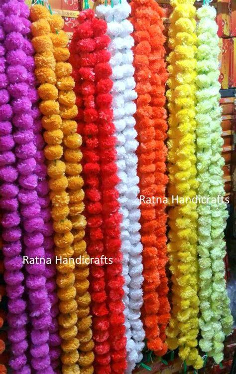 original look artificial flower garlands