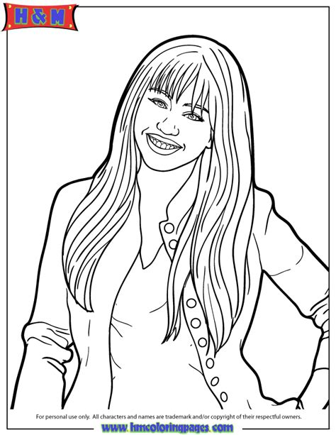 disney channel jessie to print free coloring pages on