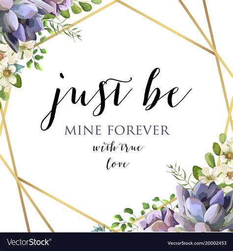 Mirkwood Designs Flower Card Template by Floral Botanical Card Design Template Vector Image