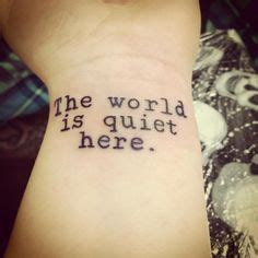 Vfd Tattoo Placement | lemony snicket s quot a series of unfortunate events quot tattoo