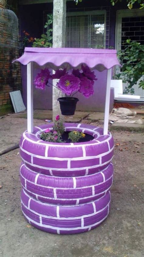 Tire Garden Ideas 25 Best Ideas About Tire Planters On Tire Garden Tires Ideas And Large Diy Planters