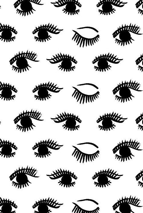eye pattern pinterest image via we heart it b w background black eyes