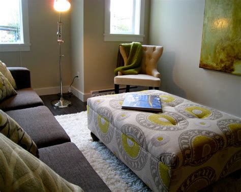 fabric ottoman design ideas remodel pictures houzz