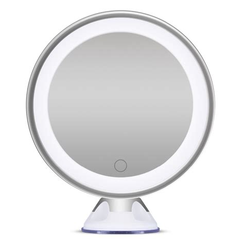 bathroom mirrors with magnification bornku b60 makeup mirror with lights and magnification 7x