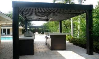Modern Outdoor Pergolas by Outdoor Bars Furniture Modern Outdoor Kitchen Design For