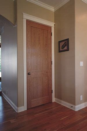 light wood doors white moulding google search wood